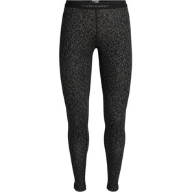 Icebreaker 200 Oasis Sky Paths Leggings Femme, black